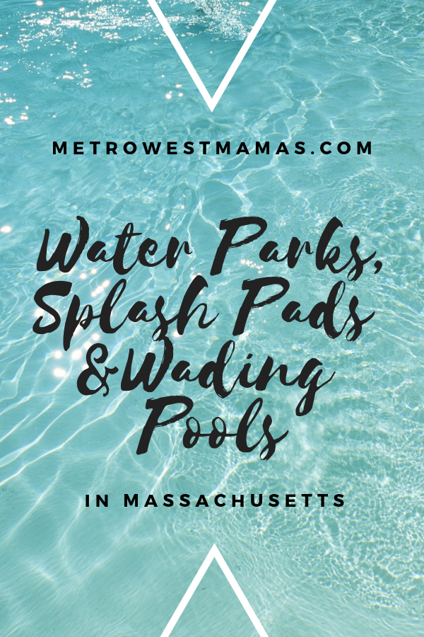 Splash Pads and Water Parks in Massachusetts