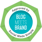 Approved by Blog Meets Brand - Social Made Simple